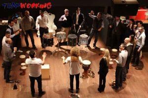 music team building & incentive in dubai: corporate orchestra