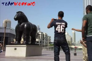 team building & incentive in dubai: urban movie
